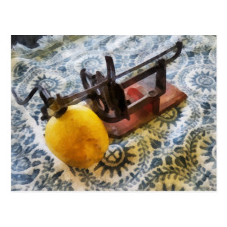 Vintage Apple Peeler Postcard