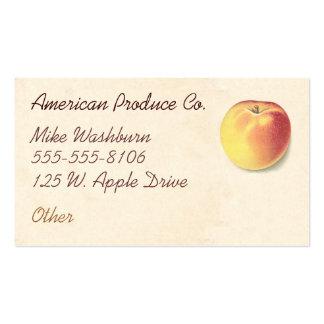 Vintage Apple Tarjetas De Visita
