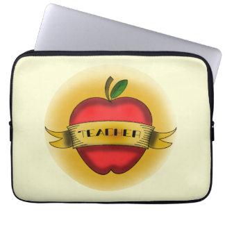 Vintage Apple Tattoo Teacher Electronics Bag