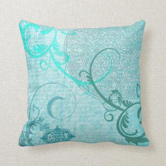 Vintage Aqua Pillow