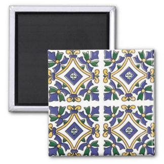 Vintage Arabesque 2 Inch Square Magnet
