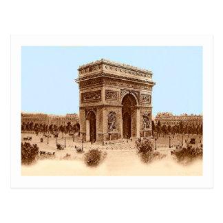 Vintage Arc de Triomphe Notecards Post Cards
