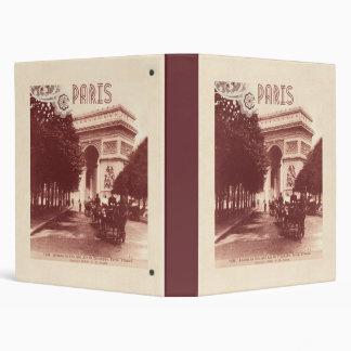 Vintage Arc De Triomphe Paris 1903 Binder