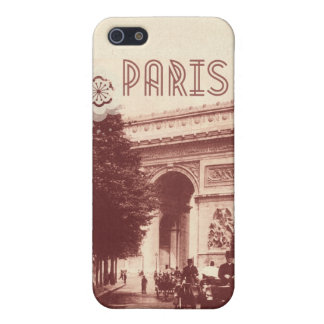 Vintage Arc De Triomphe, Paris, 1903 iPhone 5/5S Case