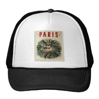 Vintage Arc de Triomphe Paris Trucker Hat