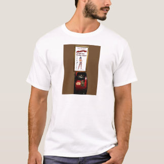 Vintage arcade machine pinup girl T-Shirt