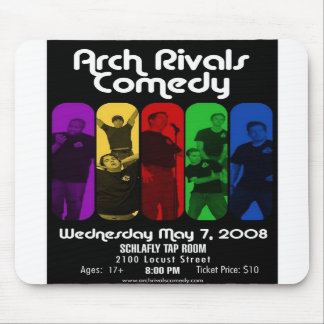 Vintage Arch Rivals Comedy Schwag Mouse Pad