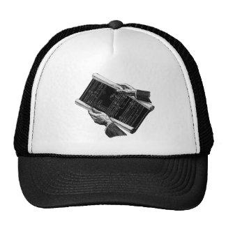Vintage Architect Business Architectural Blueprint Mesh Hat