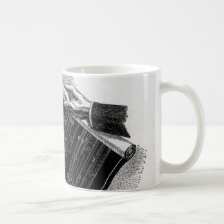 Vintage Architect Business Architectural Blueprint Mugs