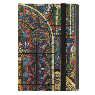 Vintage Architecture, Church Stained Glass Window iPad Mini Cover