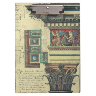 Vintage Architecture, Cornice Moulding and Column Clipboards