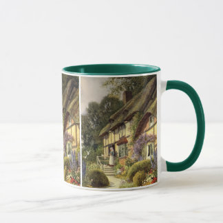 Vintage Architecture, Country Cottage House Mug
