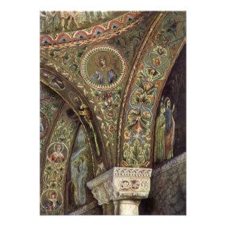 Vintage Architecture, Decorative Arch in a Church Custom Invites