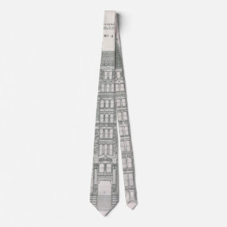 Vintage Architecture, Delaware & Hudson Canal Co. Tie