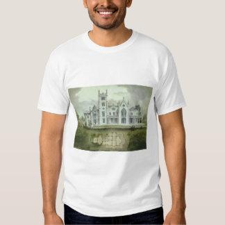 Vintage Architecture, French Chateau Floor Plans T Shirt