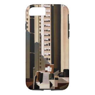 Vintage Architecture, Skyscraper by Sheeler, 1922 iPhone 7 Case