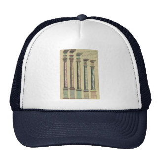 Vintage Architecture, the 5 Architectural Orders Trucker Hat