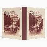 Vintage Arco del Triunfo, París, 1903