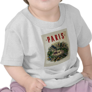 Vintage Arco del Triunfo París Camisetas