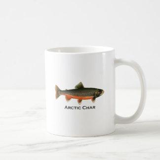 Vintage Arctic Char Illustration - Breeding Male Coffee Mug