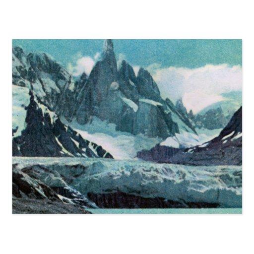 Vintage Argentina, Argentina, Cerro Fitz Roy 3375m Post Card