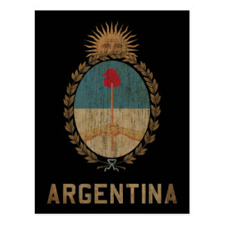 Vintage Argentina Post Card