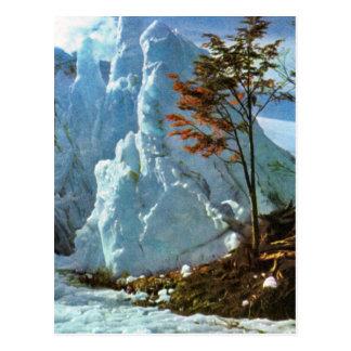 Vintage Argentina, Sea of Ice, Cerro, Buenos Aires Postcard