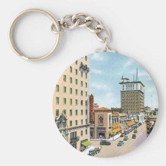 Vintage Arizona Basic Round Button Keychain