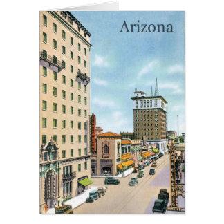 Vintage Arizona Card