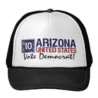 Vintage Arizona de Demócrata del voto en 2010 - Gorros