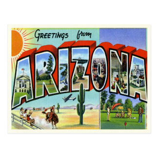 Vintage Arizona Postcard
