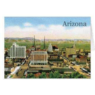 Vintage Arizona Skyline Card