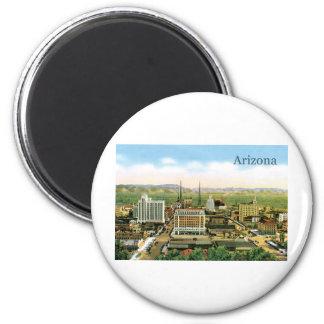 Vintage Arizona Skyline Fridge Magnets