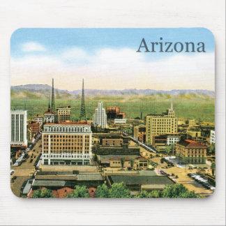 Vintage Arizona Skyline Mouse Pad