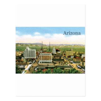 Vintage Arizona Skyline Postcard