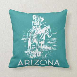 Vintage Arizona Throw Pillow