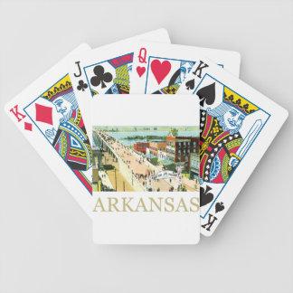 Vintage Arkansas Bicycle Playing Cards