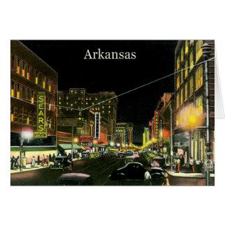 Vintage Arkansas Card