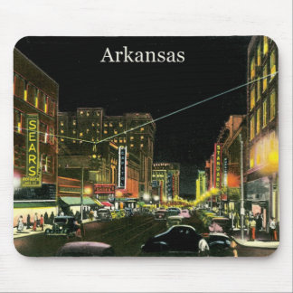Vintage Arkansas Mouse Pad