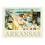 Vintage Arkansas Tarjeta Postal