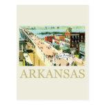 Vintage Arkansas Tarjetas Postales