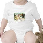 Vintage Arkansas Traje De Bebé