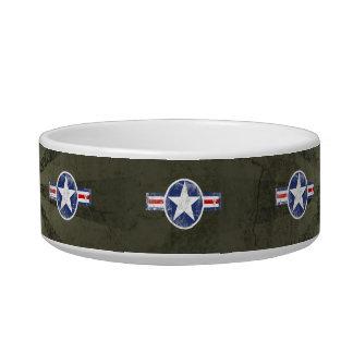 Vintage Army Air Corps Patriotic Star Bowl