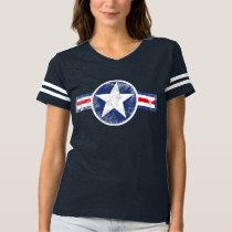 Vintage Army Air Corps Star Patriotic T-shirt