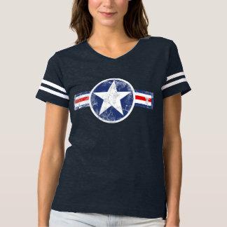 Vintage Army Air Corps Star Patriotic Tee Shirt