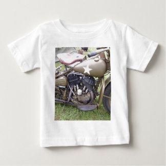 Vintage Army Motorcycle Baby T-Shirt