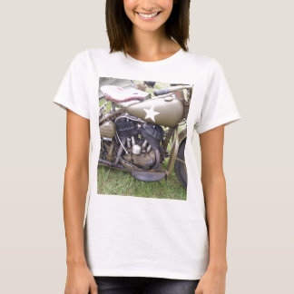 Vintage Army Motorcycle T-Shirt