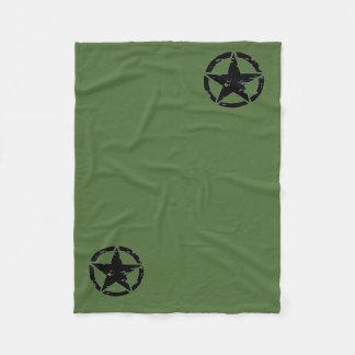 Vintage Army Star Blanket