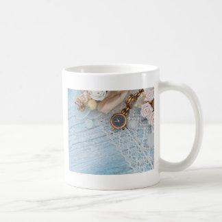 vintage arrangement, coffee mug