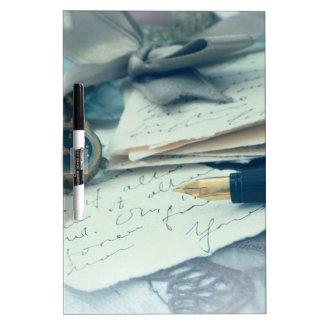 vintage arrangement, Dry-Erase board